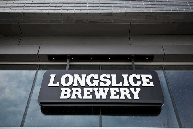 Longslice Brewery Sign