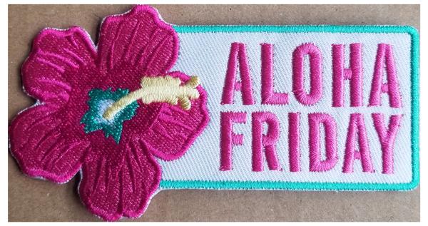 Aloha Friday Patch