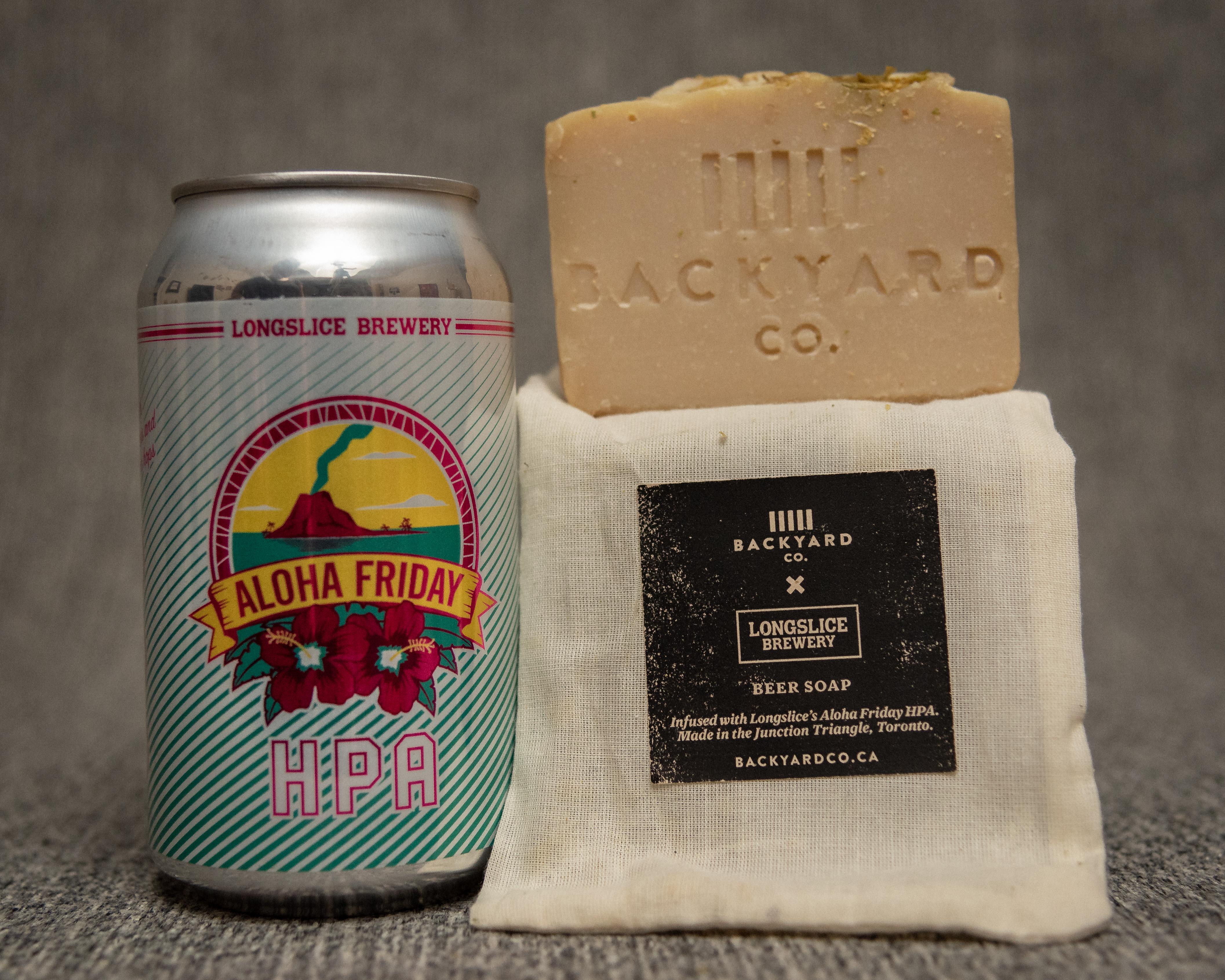 Aloha Friday Beer Soap