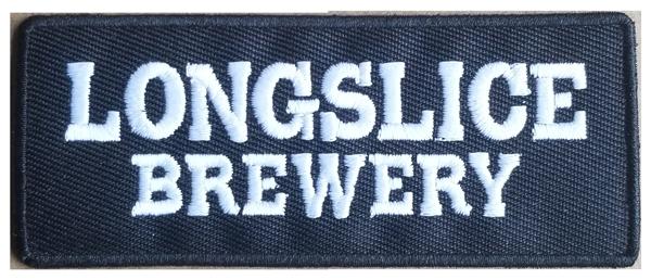 Longslice Brewery Patch Black